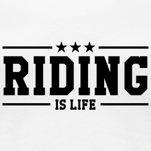 Riding Women's T-Shirts - Women's Premium T-Shirt