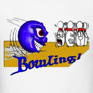 Monster Bowling - Men's T-Shirt