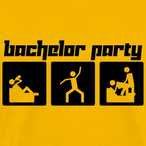 Bachelor Party (Vector) - Men's Premium T-Shirt