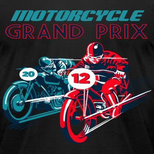 moto race T-Shirts - Men's T-Shirt by American Apparel