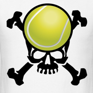 Tennis Skull T-Shirts - Men's T-Shirt