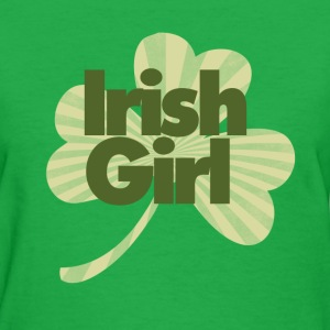 Irish girl - Women's T-Shirt