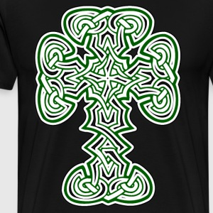 Irish Celtic Cross - Men's Premium T-Shirt