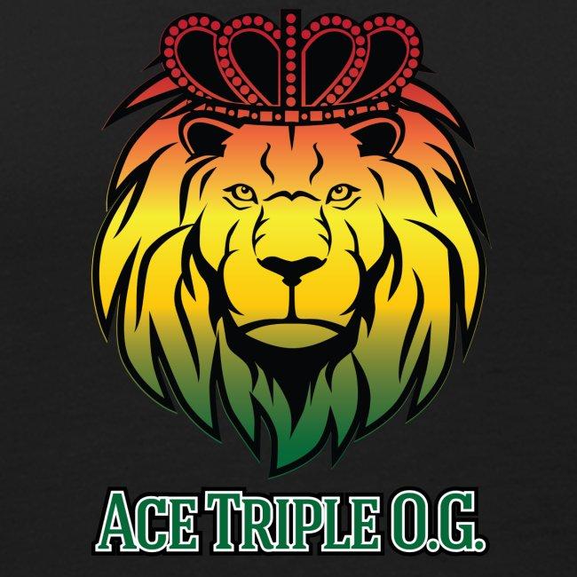 Boss Playa Ace Tripple OG Black Premium Tank Top