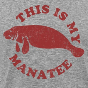 This Is My Manatee T-Shirts - Men's Premium T-Shirt