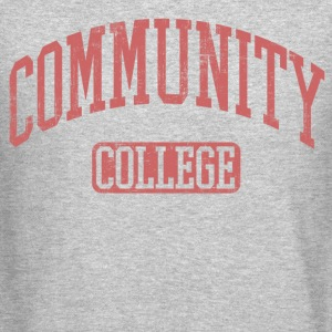 Community College Long Sleeve Shirts - Crewneck Sweatshirt