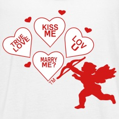 Cupid WILL YOU MARRY ME Tanks
