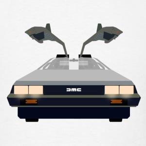 Delorean time machine - Back to the future - Men's T-Shirt