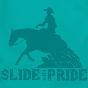 Slide with pride - westernriding Zip Hoodies & Jackets - Unisex Fleece Zip Hoodie by American Apparel