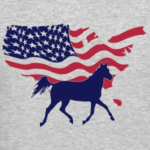 American Horse Long Sleeve Shirts - Crewneck Sweatshirt