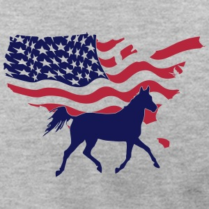 American Horse T-Shirts - Men's T-Shirt by American Apparel