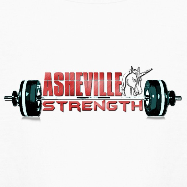 Kids Long Sleeve White Asheville Strength Shirt