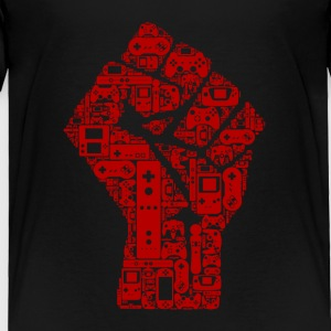 Gaming fist of revolution - Toddler Premium T-Shirt