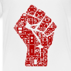 Gamer fist Revolution - Toddler Premium T-Shirt