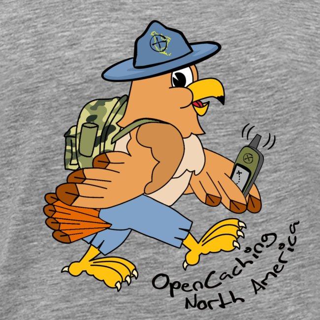 Hank The Hawk 1st Edition Men's Premium T-Shirt