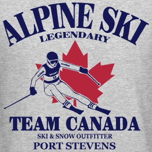 alpine ski  - ski race - Canada Long Sleeve Shirts - Crewneck Sweatshirt