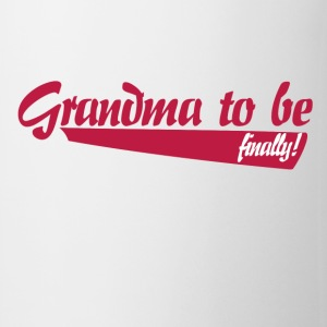 Grandma to be finally  - Coffee/Tea Mug