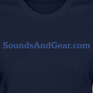 Design ~ SAG womens tee navy