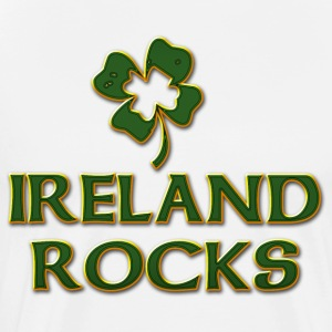 St Patricks Day Ireland Rocks - Men's Premium T-Shirt