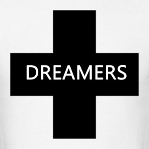 dreamers black - Men's T-Shirt