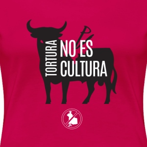Anti-Tauromaquia - Women's Premium T-Shirt