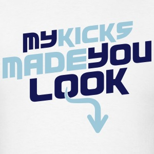 My Kicks Made You Look J4 Legend Blue - Men's T-Shirt