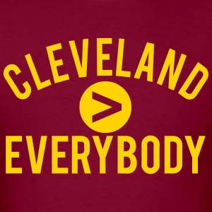 Cleveland  Everybody T-Shirts - Men's T-Shirt