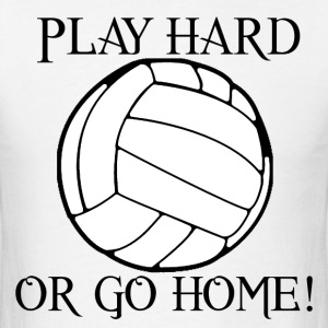 Play Hard Volleyball T-Shirts - Men's T-Shirt