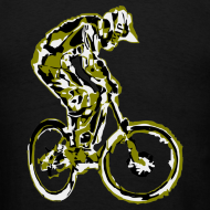 Design ~ MTB Shirt - Downhill Rider