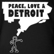 Design ~  Peace, Love and Detroit