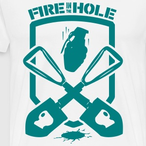 Fire in the hole! - Men's Premium T-Shirt
