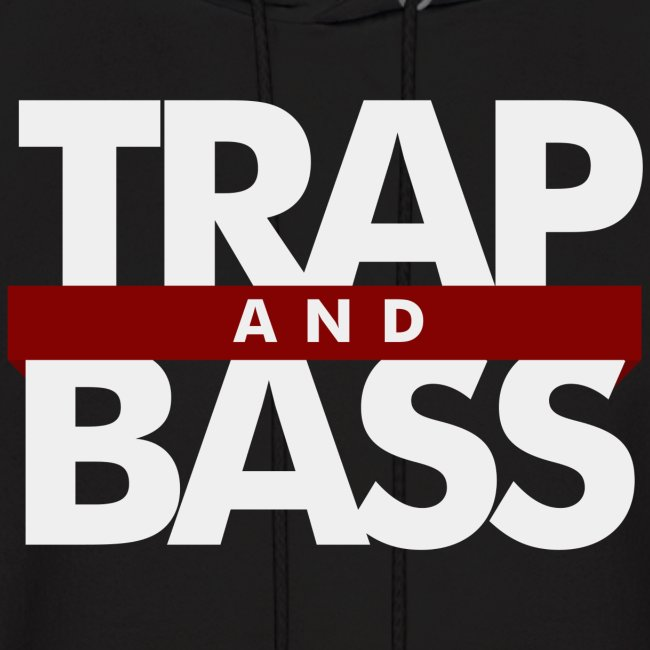 Trap and Bass Mens Hoodie
