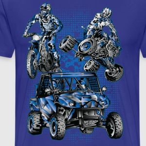 Extreme Off-Road Sports T-Shirts - Men's Premium T-Shirt