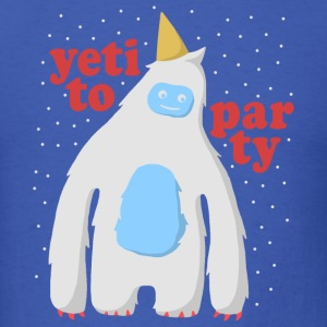 Yeti To Party T-Shirts - Men's T-Shirt