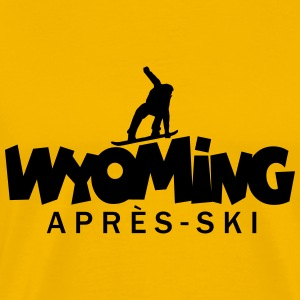 Wyoming Apres Ski Snowboard