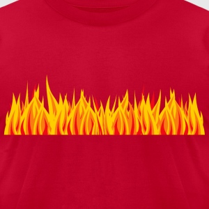 Hot fire - Men's T-Shirt by American Apparel
