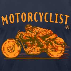 motorcyclist T-Shirts - Men's T-Shirt by American Apparel