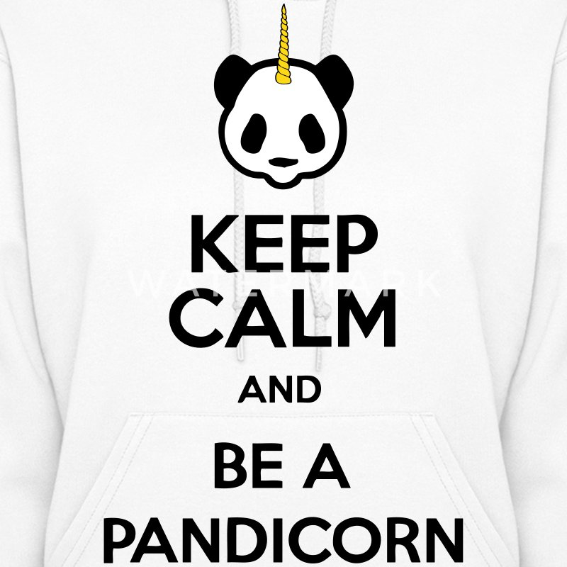 Keep Calm And Be A Pandicorn Hoodies - Women's Hoodie