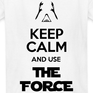 Keep Calm And Use The Force Kids' Shirts - Kids' T-Shirt