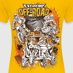 Extreme Off-Road Racing Women's T-Shirts - Women's Premium T-Shirt