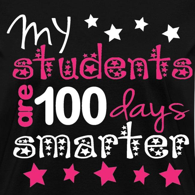 100 days smarter and back design K