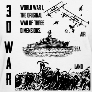 3D War - Women's T-Shirt