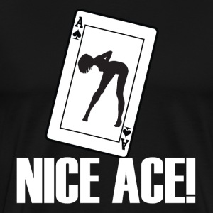 Nice Ace - Men's Premium T-Shirt