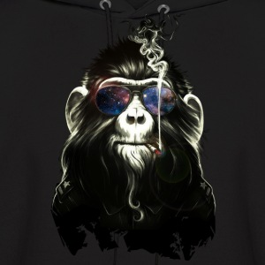 skoking monkey - Men's Hoodie
