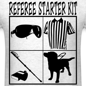 REFEREE Starter Kit Funny T-Shirt Design Tees - Men's T-Shirt