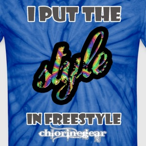 Put style in freestyle T-Shirts - Unisex Tie Dye T-Shirt