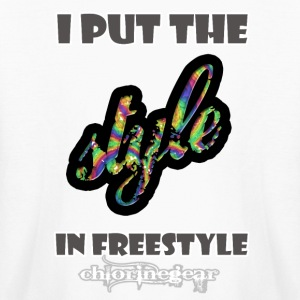 Put style in freestyle Kids' Shirts - Kids' Long Sleeve T-Shirt