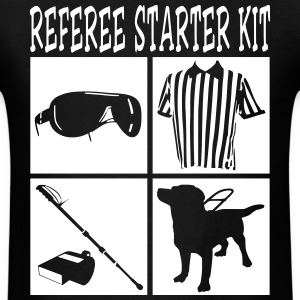 Cool Referee Starter Kit T-Shirt Graphic Design - Men's T-Shirt