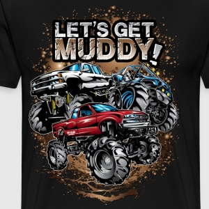 Let's Get Mega Muddy T-Shirts - Men's Premium T-Shirt