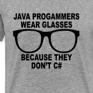 java_programmers_dont_c_tshirts - Men's Premium T-Shirt
